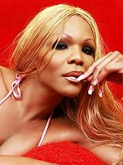 Big dick black american tranny Heather